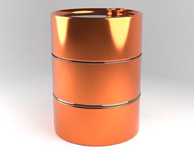Oil Barrel petroleum full 3D model