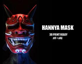 Hannya cosplay mask - ready for print