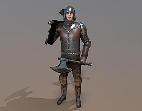 TAB Medieval Knight - 7B - Skin2 3D model