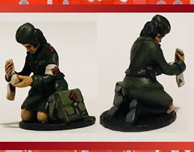 3D print model 28mm Soviet Russian Medic WW2