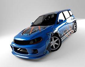 Subaru STI 3D model