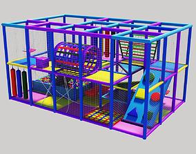 3D model Amusement park Labyrinth