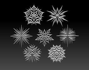 3D printable model stars