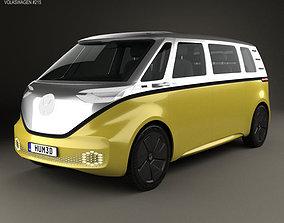 3D Volkswagen ID Buzz 2017