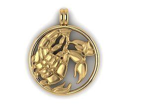 magerit zodiac scopion scorpion 3D printable model