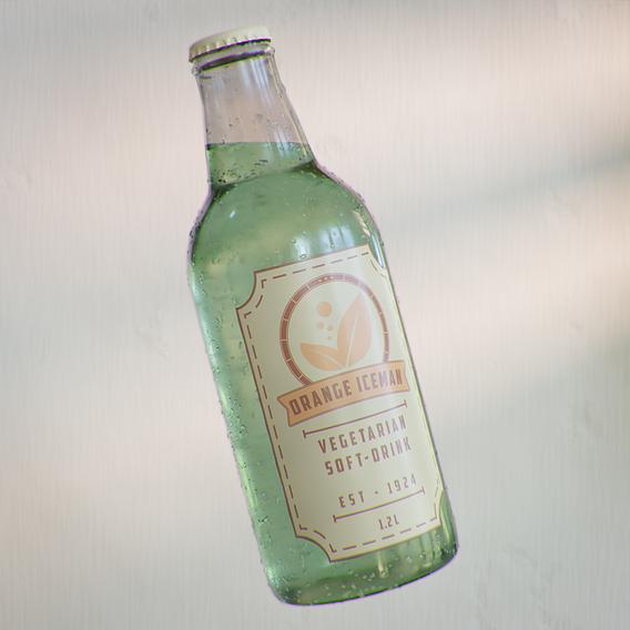 3D Packaging Soft Drink