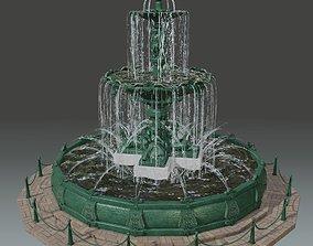 Pileta Ornamental de Tacna - Ornamental Pool of 3D asset 1