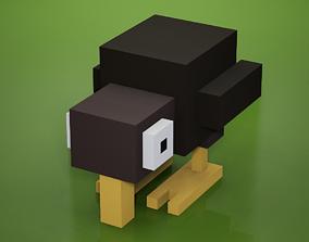 Voxel - Kiwi 3D model