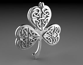 3D printable model Clover pendant jewelry