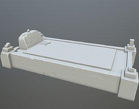 3D printable model tombstone 8