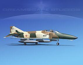 McDonnell Douglas F-4J Phantom II Iran 3D