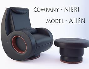 The Alien Chair 3D model