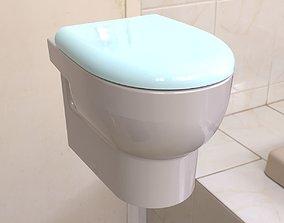 Toilet toilet sink 3D model