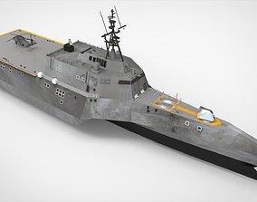 Landing Craft Ship 3D