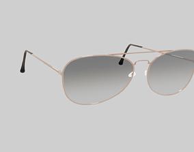 models Aviator Glasses 3D