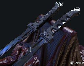 Ninja katana SCI-FI 3D model