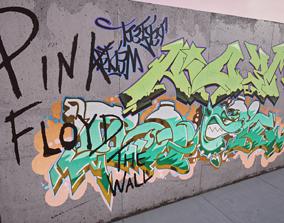 100 Procedural Graffiti for UE4 3D model VR / AR ready