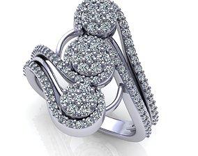 Wedding Ring R0214 jewelry 3D printable model