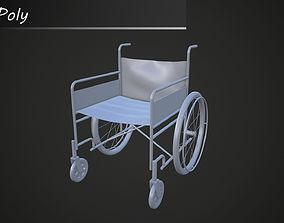 3D wheelchair Wheelchair