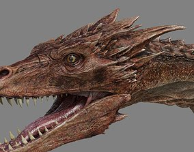 Dragon reptile 3D model