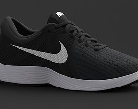 3D model NIKE Womens Revolution 4 Running Sneakers from 1
