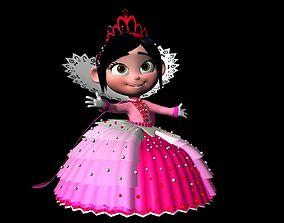 Princess Vanellope von Schweetz 3D