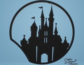 3D printable model Cinderella Castle