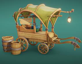 3D model Trades cart