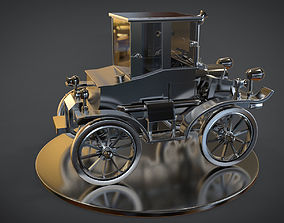 3D model steampunk car