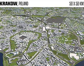 3D model Krakow Poland