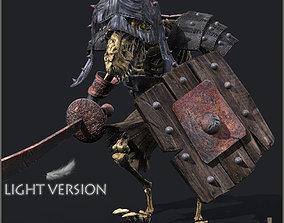 Ratkin Marauder Light Version 3D model animated