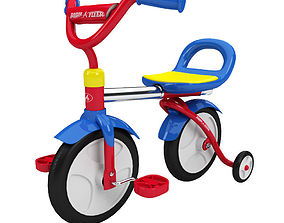 Child Tricycle Toy 3D model