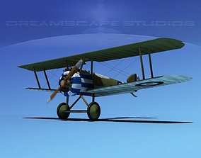 Sopwith Camel 3D rigged military