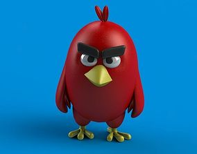 3D printable model Angry Birds Red