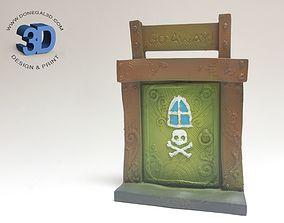 3D printable model Bad Fairy Door