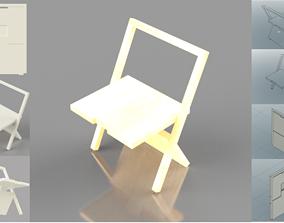 Folding Chair 3D print model