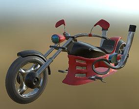 3D model Chopper 02 PBR