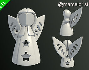 Angels for Christmas Decoration 3D printable model
