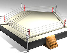 3D model Ring Arena - 5 sided