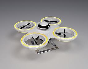 3D quadrotor Drone