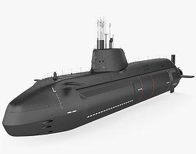 3D model HMS Astute