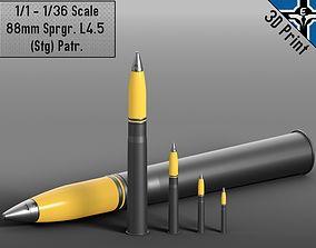 Small Scale - 88mm Sprgr L4-5 Stg Patr 3D print model 5