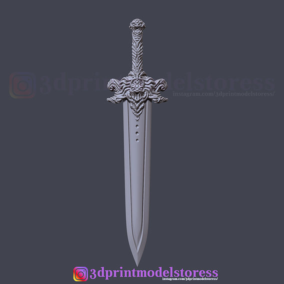 Devil Sword 3D Print