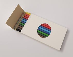 3D model Colour pencil