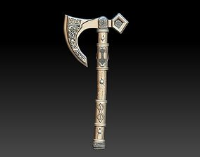 Nordic axe 3D printable model accessories
