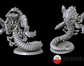 Xenoteras burrowers 3D print model
