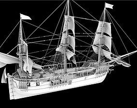 realtime ship model