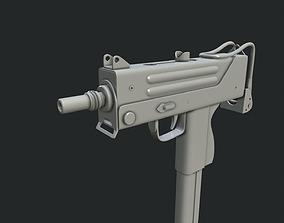 3D model Ingram MAC-10