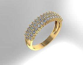 Ring Rings 3D printable model stonesetting