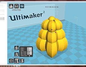 Snowflake pas-ko 3D printable model